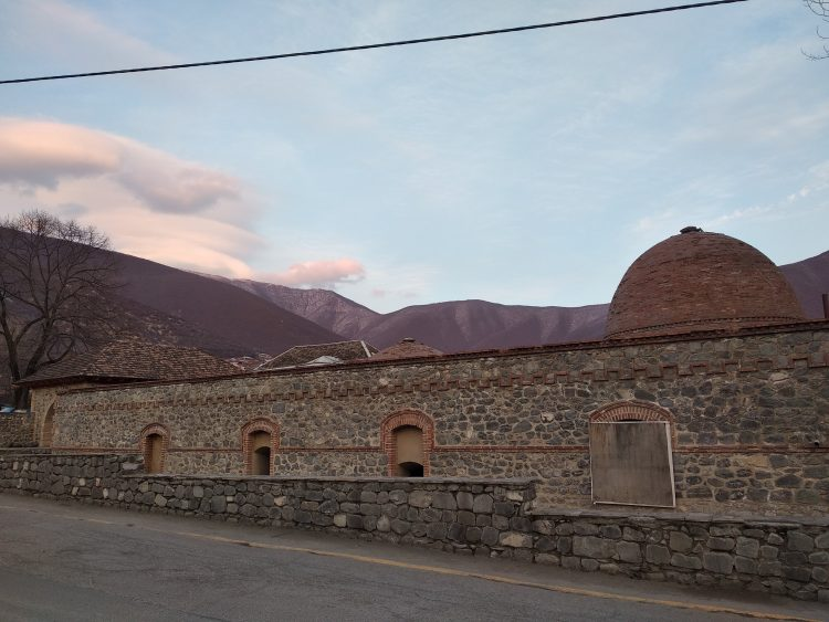 Old bath house, Sheki, Azerbaijan
