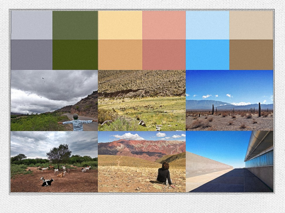 The colors of Argentina