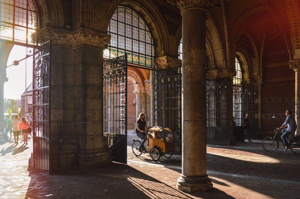 Rijksmuseum tunnel in Amsterdam